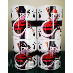 PACK 4 MUGS KROAZ DU