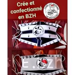 MASQUE HERMINE CLIN D ŒIL BONNET ROUGE